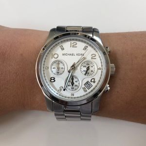 Michael Kors MK-5683A Special Edition Silver Watch